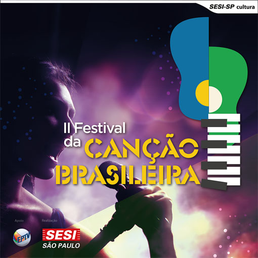 SESI apresenta 2º Festival da Canção Brasileira etapa Campinas