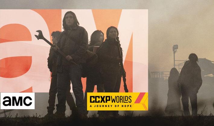 AMC confirma presença na CCXP Worlds!