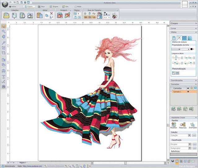 Audaces lança software para designers de moda com download gratuito