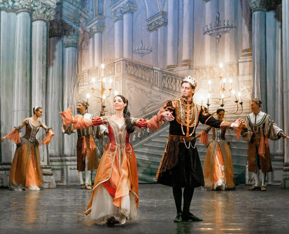 Ballet Nacional da Rússia apresenta o maravilhoso Romeu e Julieta