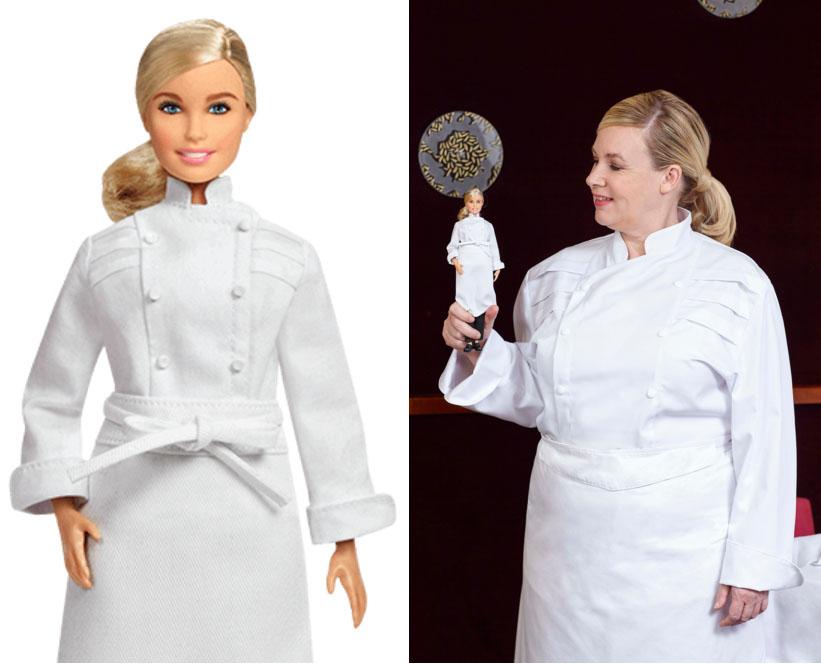 Chef de cozinha ícone da culinária francesa vira Barbie