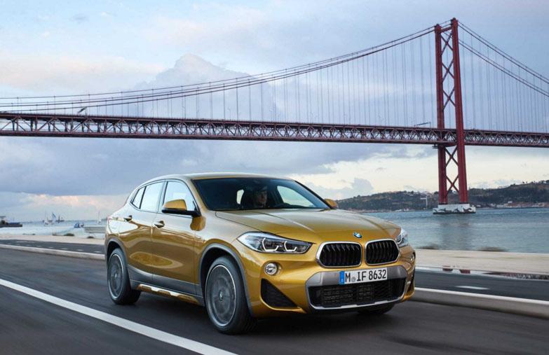 BMW divulga novos vídeos e fotos do inédito X2