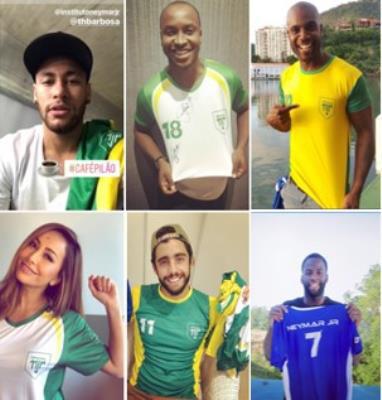 Lewis Hamilton e Draymond Green se unem a Neymar Jr. em campanha social