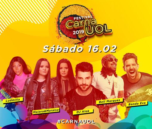 Festival CarnaUOL marcará o Grito de Carnaval Oficial da cidade