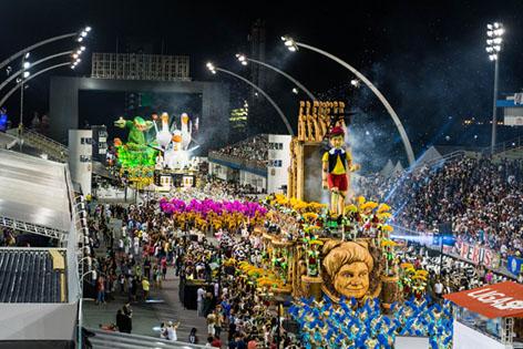 TV Brasil transmite desfile do Grupo de Acesso do Carnaval de São Paulo no domingo