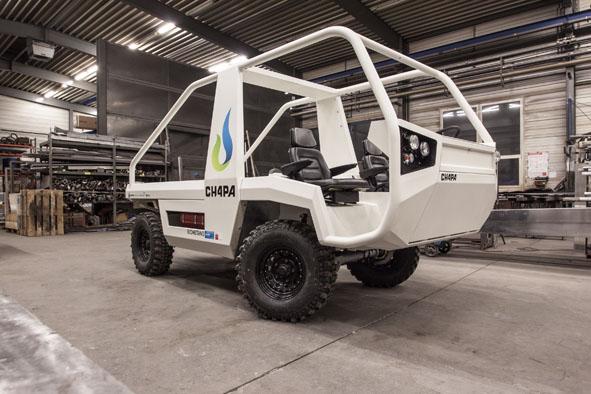 No Show Rural, CIBiogás e Itaipu apresentaram protótipo de veículo movido a biometano