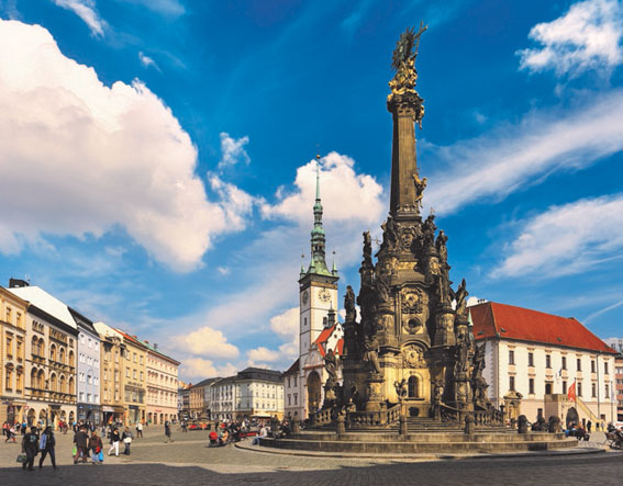 Regiões da Tchéquia e suas cidades, Morávia e Silésia