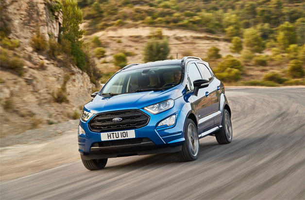 Ford inicia a venda do Novo EcoSport na Europa
