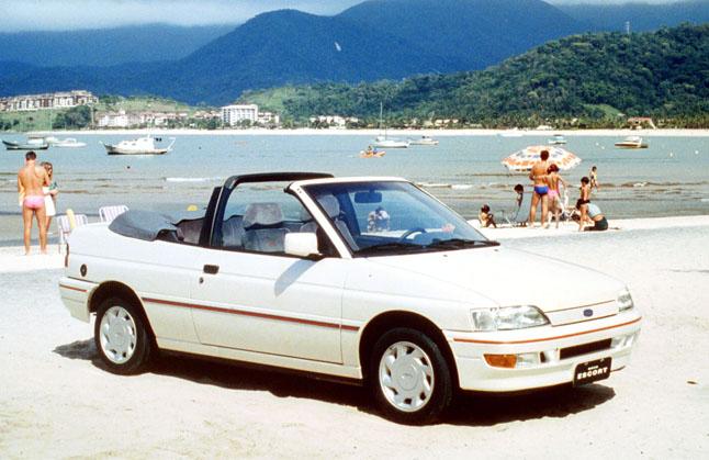 Ford Escort XR3, esportivo dos sonhos de uma geração, completa 35 anos
