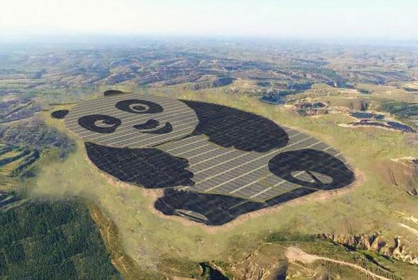 Astra Investimentos mostra fazenda de energia solar tem formato de Panda