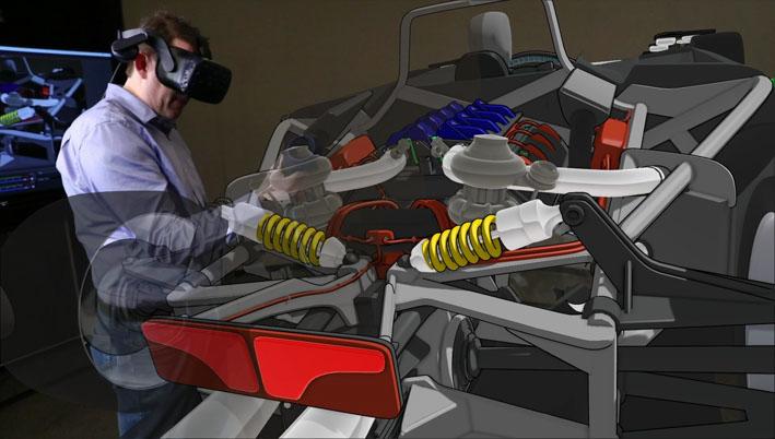 Ford adota nova ferramenta de realidade virtual 3D que permite desenhar carros por gestos