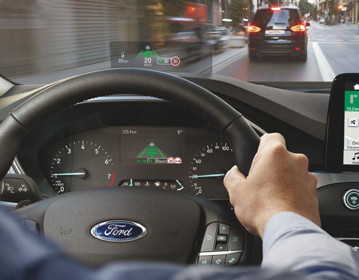 Ford cria mostrador de painel com tecnologia inspirada em caças a jato