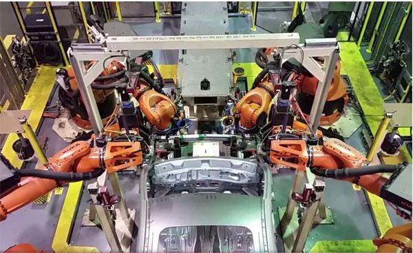Ford adota avançado sistema de montagem em Camaçari