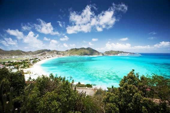 St. Maarten reabre fronteiras para o turismo latino-americano