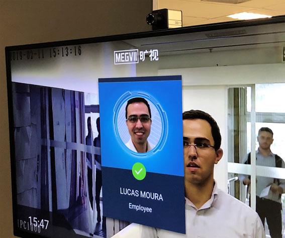 A e-vertical em parceria com a gigante tecnológica MegVii, lança o KeyAccess Facial