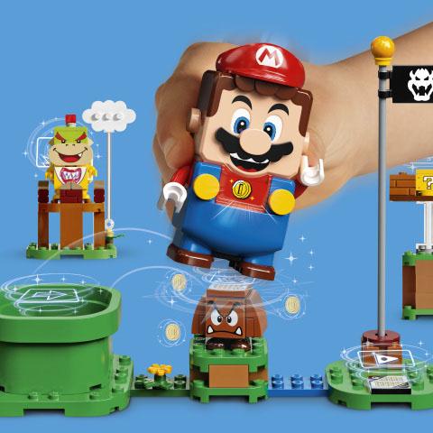 Lego e Nintendo aliam-se para criar uma experiência de construção lendária