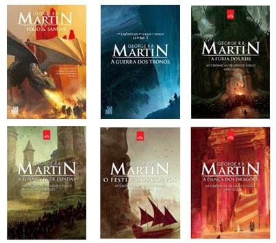 Saraiva oferece 40% off em livros da saga Game of Thrones