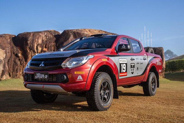 Mitsubishi Motors estreia em Rally com carro preparado no Brasil