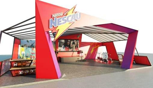 Além da tirolesa, Nescau promove desafio de bikes na Game XP