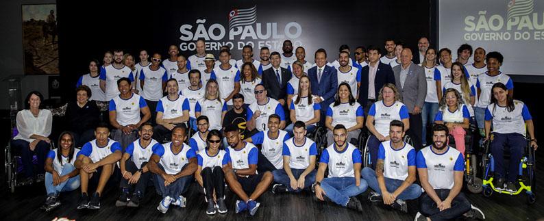 Comitê Paralímpico Brasileiro e Governo de SP renovam parceria