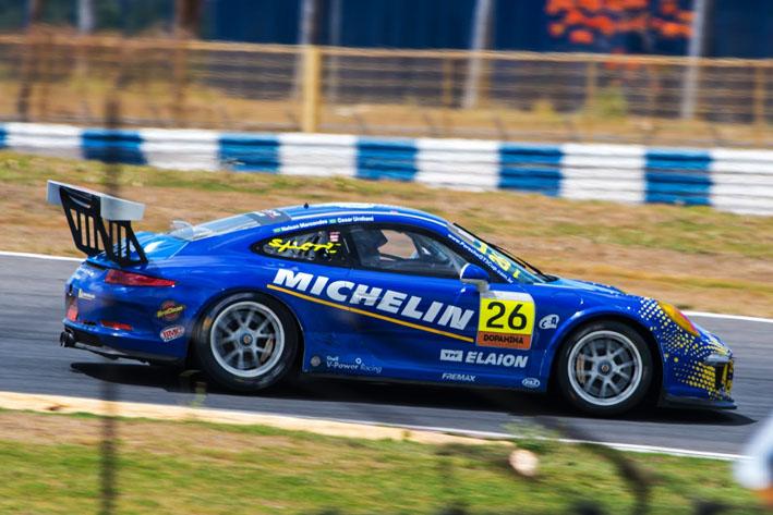 Porsche GT3 Cup volta a São Paulo para penúltima etapa do Campeonato