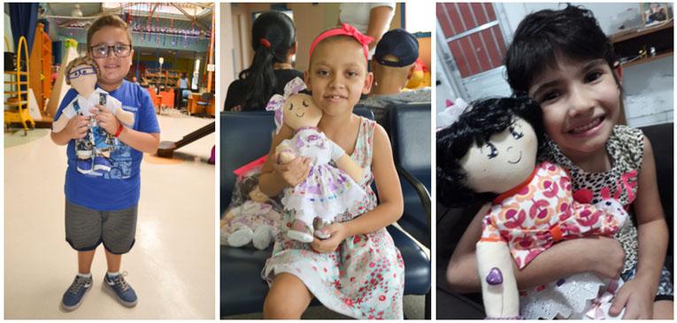 """Crianças com diferenças físicas se veem em bonecos do projeto """"Alguém como eu"""""""