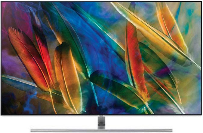 QLED TV é a primeira TV a atingir 100% do volume de cor