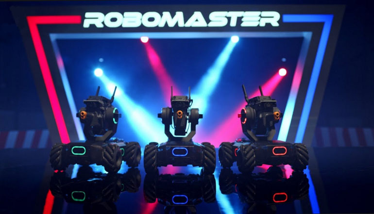 RoboMaster 2019 mostrou o Futuro da Robótica