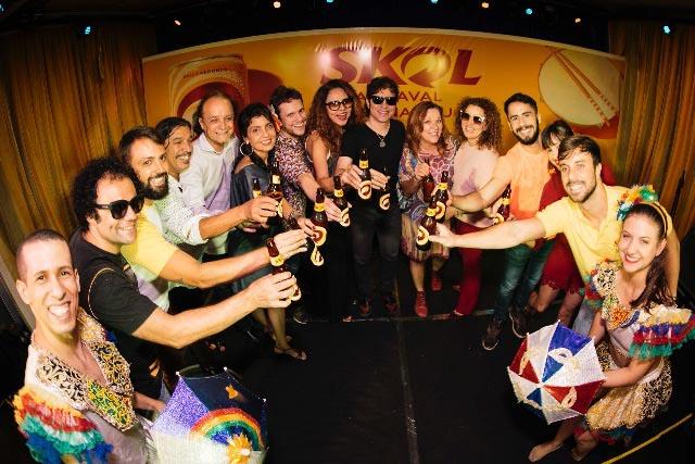 Carnaval redondo da SKOL junta foliões de Recife e Olinda com ações multiculturais
