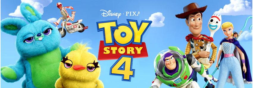 'Toy Story 4' acaba de chegar no Looke!