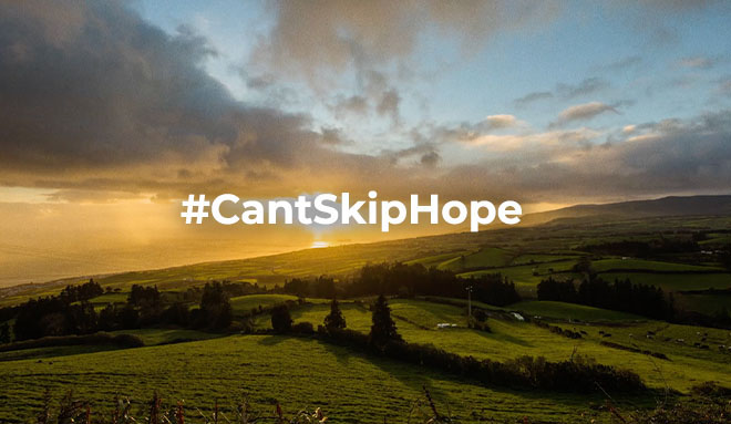 Turismo de Portugal lança #CantSkipHope