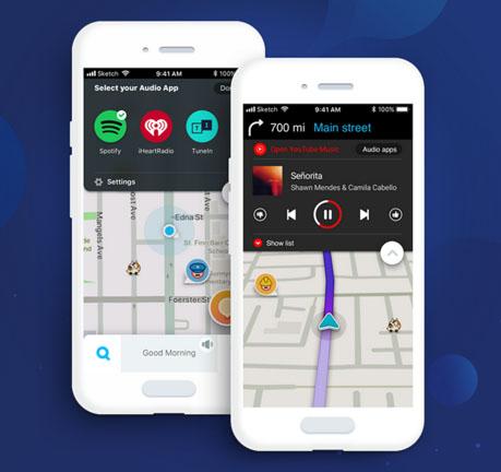 Waze disponibiliza streaming do Amazon Music no Tocador de Áudio